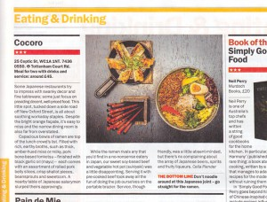 Time Out London 18-24 Feb 2014
